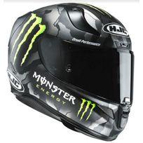 Hjc - casque moto intégral Fibre Rpha 11 Racing Monster Mc-5SF 2XL