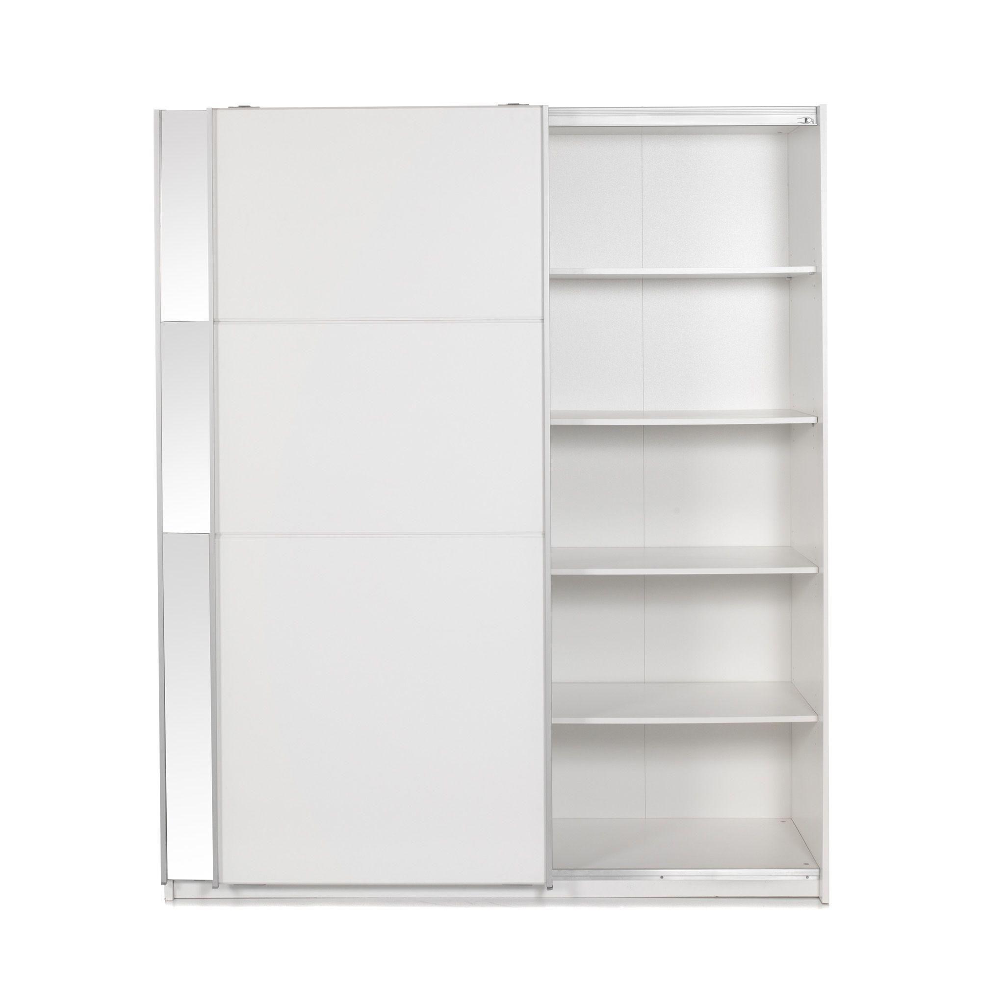 Alin a slidy armoire 2 portes coulissantes pas cher achat vente armoire rueducommerce - Alinea armoire porte coulissante ...