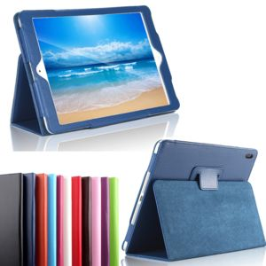 xeptio housse nouvel apple ipad pro 10 5 pouces wifi 4g lte cuir style bleu navy avec stand. Black Bedroom Furniture Sets. Home Design Ideas