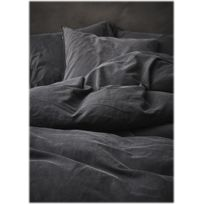 Essenza Home - Housse de couette Guy anthracite