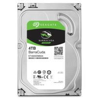 SEAGATE - Disque dur interne Barracuda 3,5 4 To