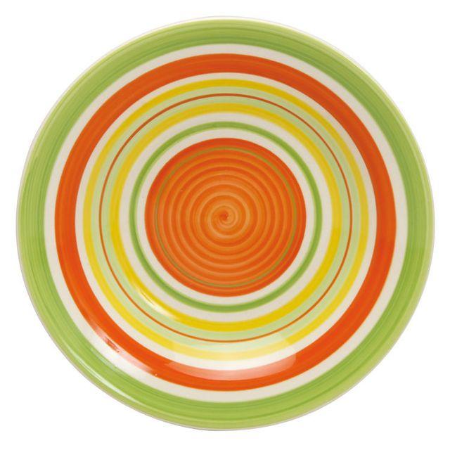 Assiette Multicolore - Achat Assiette Multicolore Pas Cher