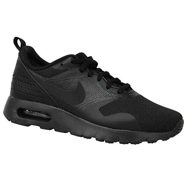 Nike - Air Max Tavas Gs 814443-005 Noir 36 1/2 - pas cher Achat / Vente Baskets enfant - RueDuCommerce
