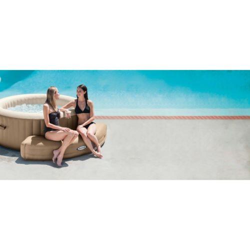 intex entourage pure spa bulles rond pas cher achat vente accessoires spas rueducommerce. Black Bedroom Furniture Sets. Home Design Ideas