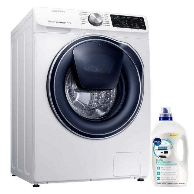 Samsung Lave-Linge Frontal 9KG A+++ 1400trs/min EcoBubble Machine à laver hublot