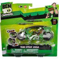 Bandai - Ben 10 - Moto Omniverse + Figurine Ban-36960