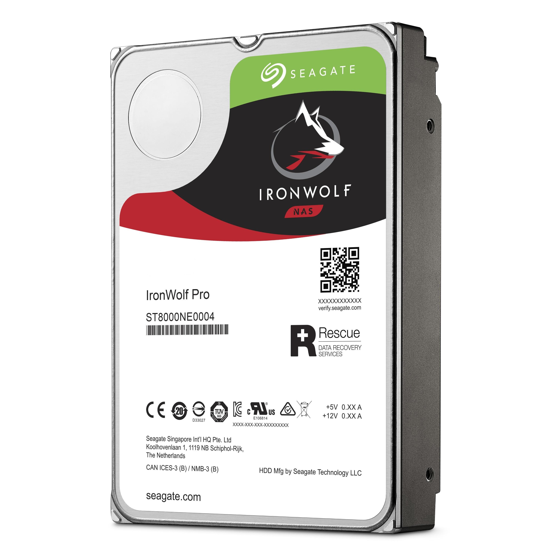 Disque dur interne Ironwolf SATA III 6 Go/s 14 To 3,5