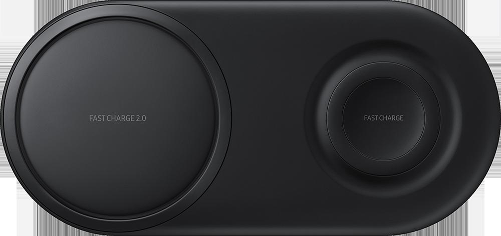 Chargeur sans fil Duo Samsung Noir
