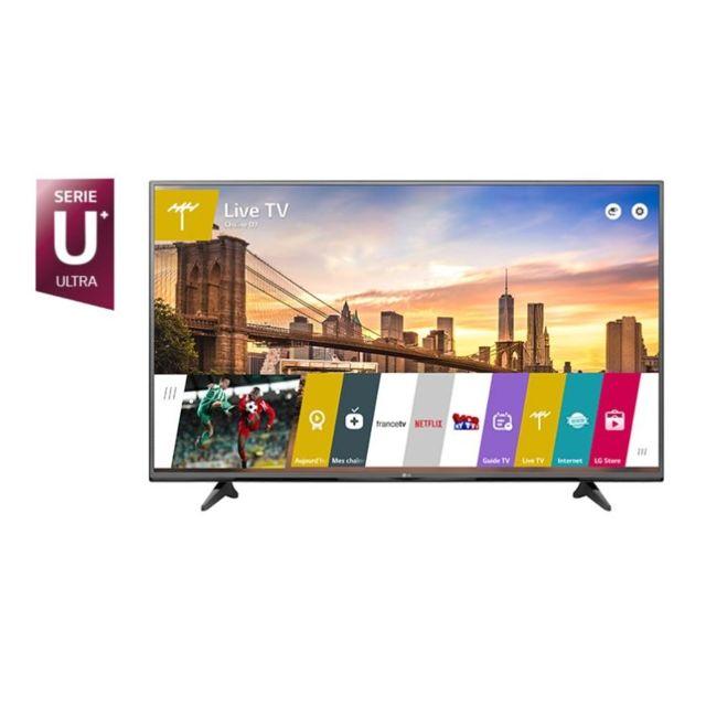 lg 65uf680v tv 65 39 39 164cm uhd 4k 1000 pmi smart tv pas cher achat vente tv led de 46. Black Bedroom Furniture Sets. Home Design Ideas