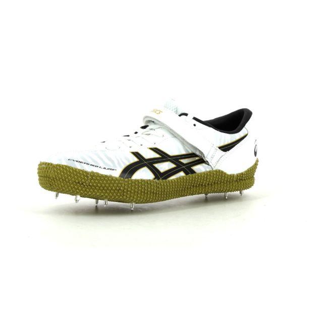buy popular 09a63 0be35 Asics - Chaussures d athlétisme Asics Cyber High Jump London Right