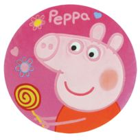 Jemini - Coussin rond Peppa Pig Rose