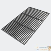 Aqua Occaz - Grille de barbecue rectangulaire en fonte : 60 x 40 cm - 051525