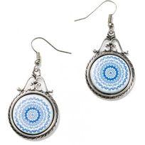 Desigual Bijoux - Boucles d'oreilles Turner 74G9ED9-5000 - Boucles d'oreilles Cercles Bleues Femme