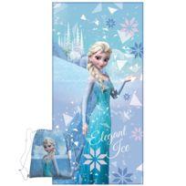 Linge de bain La reine des neiges - Achat Linge de bain La reine des ... c3a3e464cfd9