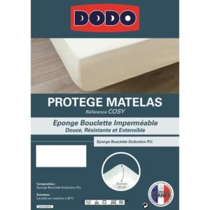 dodo protege matelas cosy 160x200cm pas cher achat vente rueducommerce. Black Bedroom Furniture Sets. Home Design Ideas