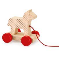 Bellybutton By Selecta - Jouet à tirer : Cheval nostalgique Petit oncle