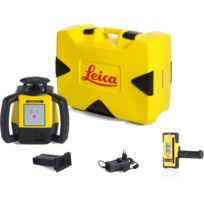 LEICA - Laser Rugby 610 avec coffret avec batterie Li-ion et cellule de réception Rod Eye 140- 6008613