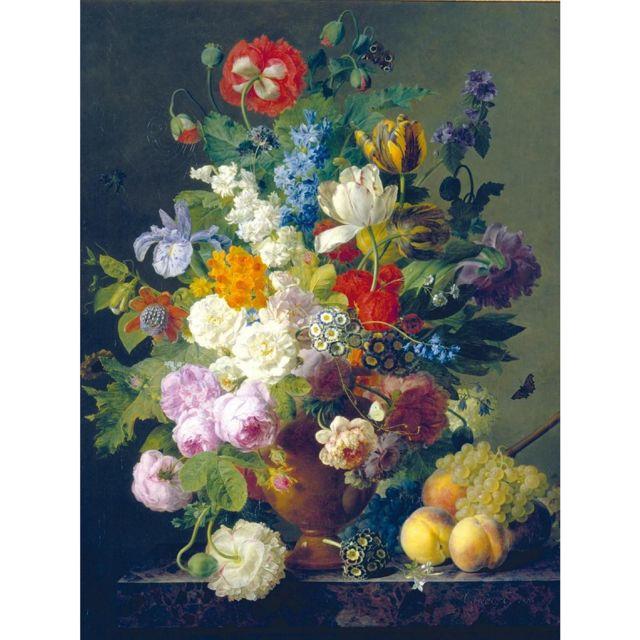 CLEMENTONI Puzzle 1000 pièces - Van Dael : Vase de fleurs