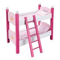 AIMANTINE - Mon lit superposé en bois pour poupée - TY60747