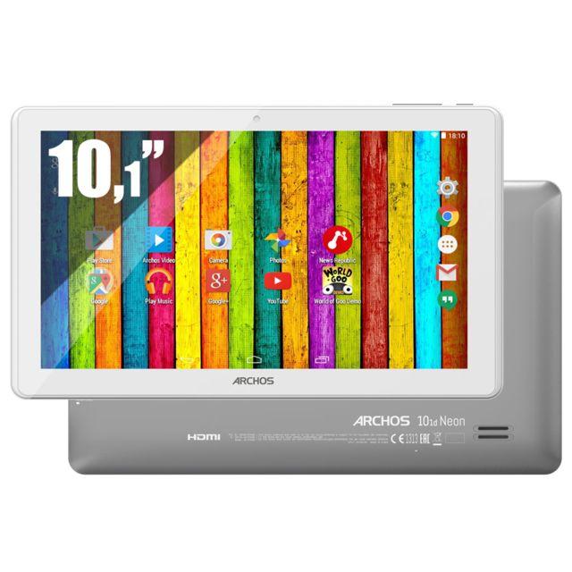 ARCHOS 101D Neon 10,1'' IPS LIKE - 8 Go - Wifi - Blanc