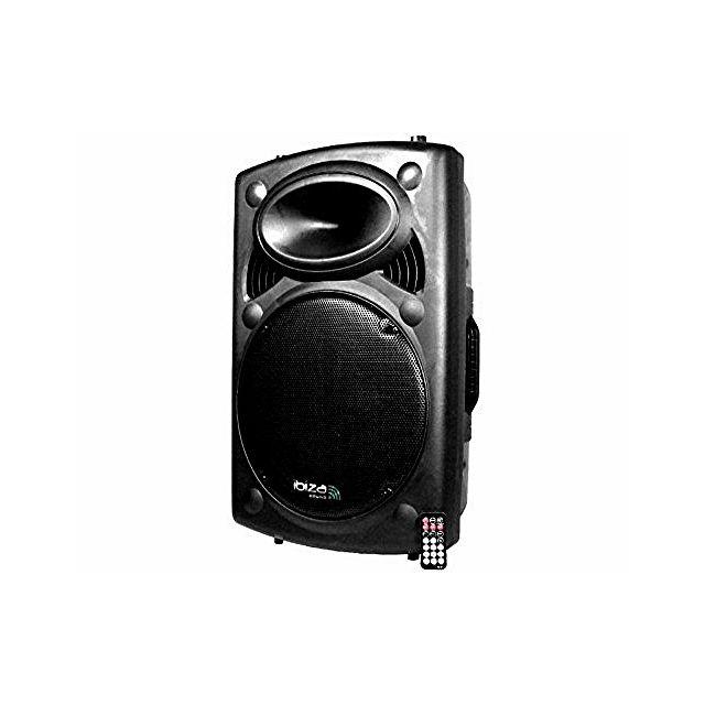 Ibiza Enceinte amplifiée 800w lecteur mp3 Slk-15A-USB Bt