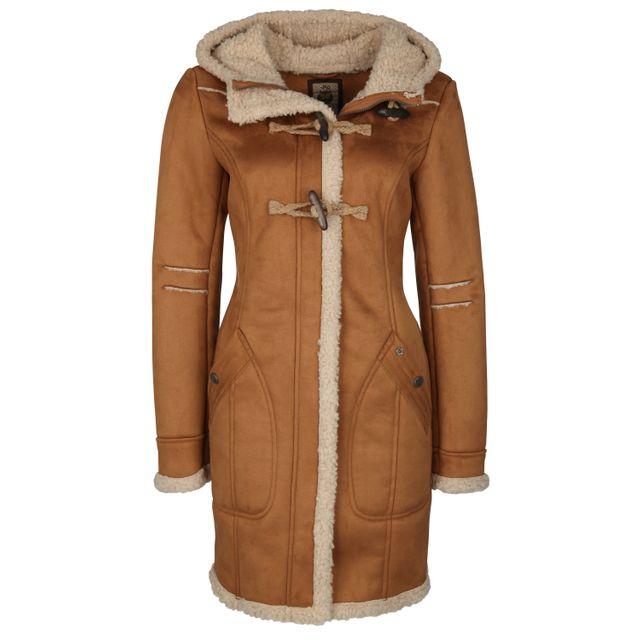 02f45f908d15 Mymo - Duffel-coat 25434994 - pas cher Achat   Vente Manteau femme -  RueDuCommerce