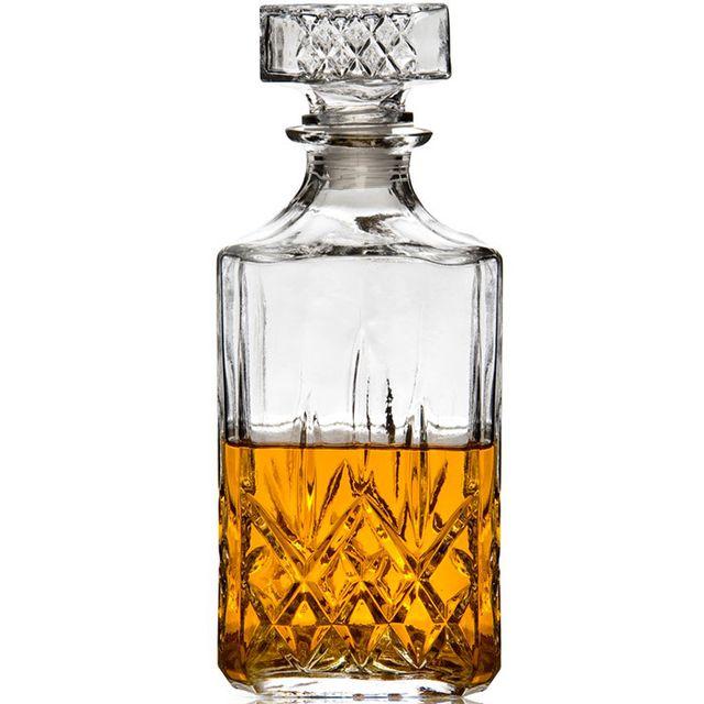 Touslescadeaux - Carafe à Whisky - 900 ml - En Verre