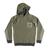 Quiksilver - Sweat Ml Schools Jail Four Leaf Clover Heather Jr