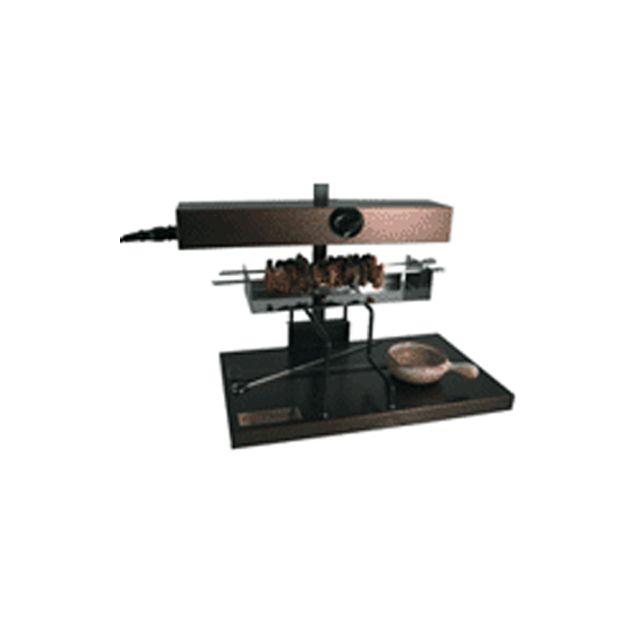 BRON COUCKE kit brochettes pour appareil à raclette alpage - broch01