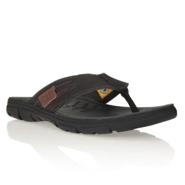 ba4c1fb8754 Caterpillar - Tong Larzac Chaussures Homme - pas cher Achat   Vente Tongs -  RueDuCommerce