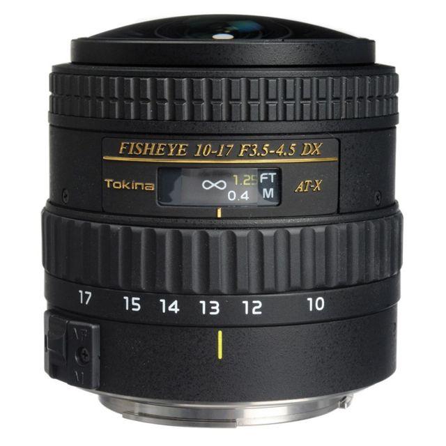 Tokina Objectif At-x Af Fx 10-17mm Nikon sans paresoleil