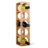 KLARSTEIN - Rack N°3 Etagère à vins en bambou empilable