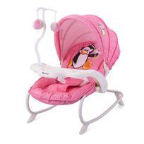 Lorelli - Transat Balancelle pour bébé Dream Time rose