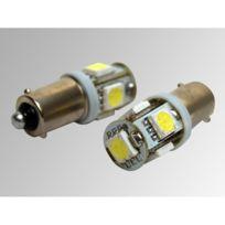 Eufab - Ampoules à Leds Cms Ba9S blanches