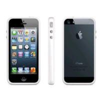 Bluetrade - Coque bumper pour Apple iPhone 5 5S Se 5C -blanc
