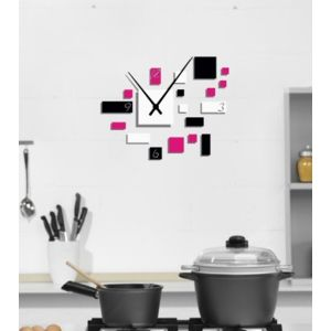 wall2time horloge mini pop personnaliser pas cher achat vente horloges pendules. Black Bedroom Furniture Sets. Home Design Ideas