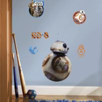 Room Mates - Stickers Géant Bb-8 Star Wars