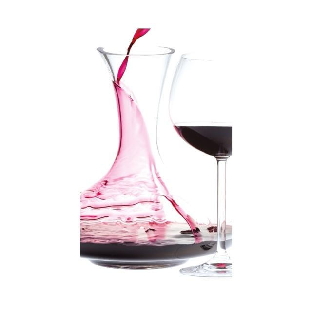 carafe d canter le vin en verre oenologie pas. Black Bedroom Furniture Sets. Home Design Ideas