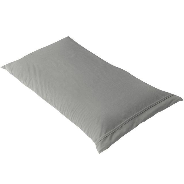 altobuy fresh taie d 39 oreiller 60x40cm grise imperm able et respirante pas cher achat. Black Bedroom Furniture Sets. Home Design Ideas