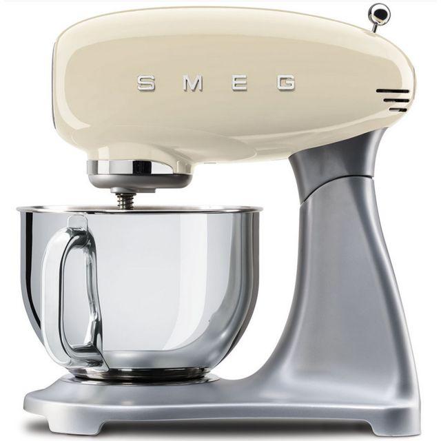 SMEG Robot pâtissier sur socle SMF01CREU
