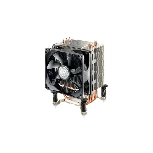 COOLER MASTER Ventirad pour processeur COOLERMASTER Hyper TX3 EVO - Socket AMD AM2 / AM2+ / AM3 / AM3+ / FM1 et INTEL 775 / 1155 / 1156 / 1366 Rue du Commerce vous propose le ventirad COOLERMASTER Hyper TX3 EVO. Idéal pour les petites configurations grâce