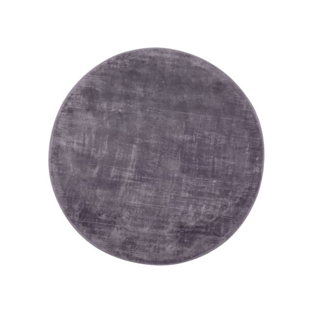 BELIANI Tapis rond gris clair 140 cm GESI - gris