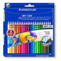 Staedtler - Noris Club 24 Crayons De Couleur Aquarellable