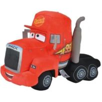 Cars - Peluche Mack 26cm - 3 - Camion Rouge - Licence Disney - Nicotoy