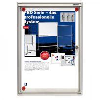 Franken - Vitrine extra-plate avec porte plexiglas - pour l'intérieur - 1 x A4