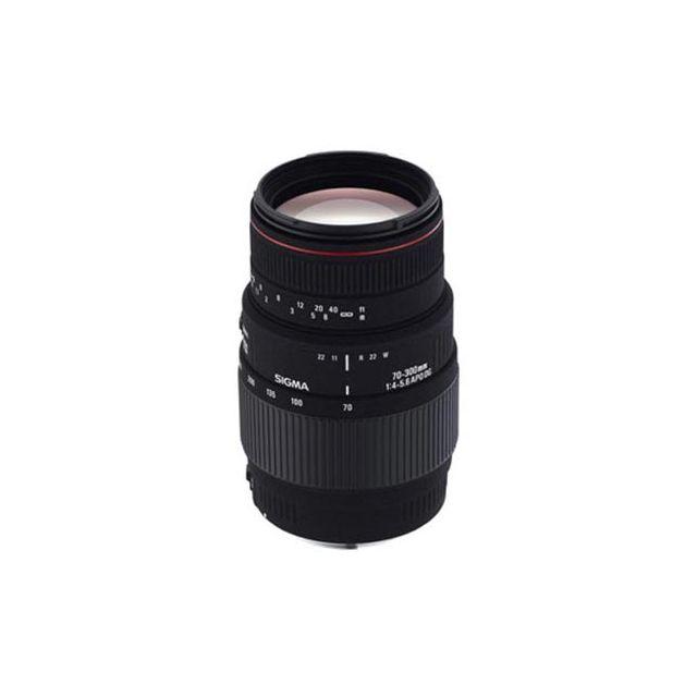 SIGMA - 70-300mm f/4-5.6 DG APO Macro - Monture Canon