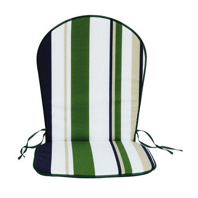 JARDIN PRIVE lot de 2 coussins pour fauteuil haut dossier - 003066