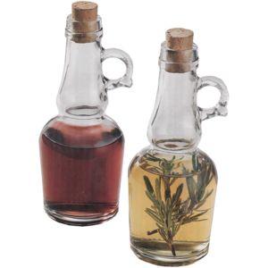touslescadeaux set huile et vinaigre ensemble huilier vinaigrier en verre 0 3 pas cher. Black Bedroom Furniture Sets. Home Design Ideas