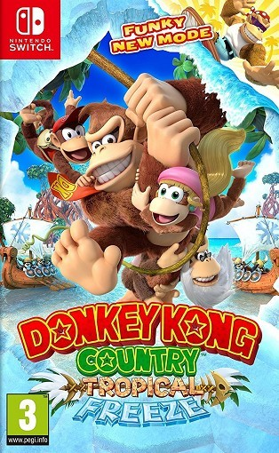 Donkey Kong Country : Tropical Freeze - Jeu Switch