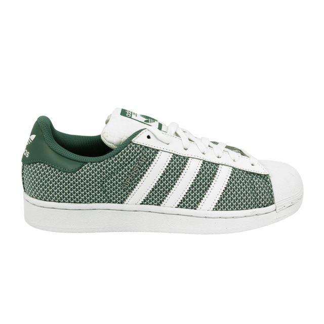 adidas sneakers superstar verte homme